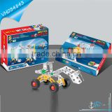 Intellectual DIY Metal Construction Toy Truck