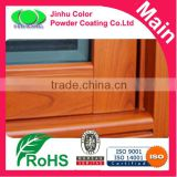 metal coating heat transfer Wood effect by sublimation powder coating paint