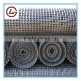 High tensile strength biaxial plastic geogrid