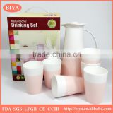 color gift boxes package ceramics bone china porcelain tea pot sets or kettle sets double glaze high quality