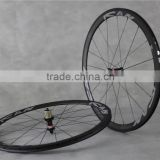 23mm width carbon 38mm clincher wheel,cheap carbon road bike wheelset 700c with new Novatec hub ,Sapim CX-ray spokes