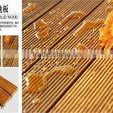 Natural oiled water resistant burma teak wood decking