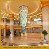 Fancy hand-blown bubble glass wedding decoration &large crystal hotel lobby Chandelier