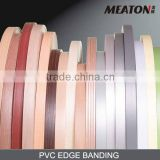 smooth surface wooden PVC edge banding
