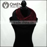 Top quality mix colors woman tube scarf