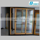 ALUMINUM DOOR MADE IN CHINA STANDARD ALUMINUM SLIDING DOOR LUXURIOUS LOOK 3 LOW TRACK DOUBLE GLAZING DOUBLE TEMPERED GLASS