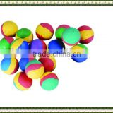 Custom rubber ball,toy ball,multi-color RUBBER FOAM BALLS