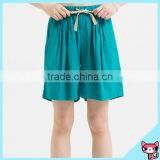 High Quality Women's Shorts with 65% Cotton 35% Linen