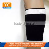 Exercise protective wraparound breathable waterproof complexion embossed neoprene calf support