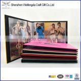 Exquisite Fashion Leather Cover Photo Album With PVC Inner Pages                                                                         Quality Choice
