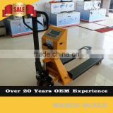 2500KG Hydraulic Pallet Truck with DP Pump