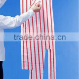 food grade disposable PE apron with paper head card with food grade