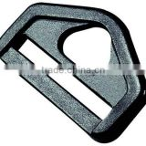 Plastic double triangle D-ring (HL-F007)
