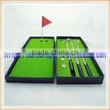 golf balls golf club pen set boxed great fathers mothers Day Gift for desktop                                                                         Quality Choice