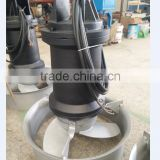 Submersible mixer for Wastewater treatment industry pump Seawage immersible aerator deep water mixer for Sewage pond