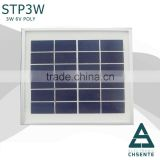 Top quality 3 watt solar energy makeing machine pv small solar panel                                                                         Quality Choice