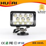 6 inch 33W Led Offroad driving light work light bar submersible 9~32V 33W car accessory boat motors Black