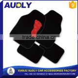 Professional Auto Promotion OEM red Car Foot Mat