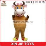 nice design plush cartoon animal cosplay costume for girls and boys