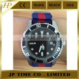 Heavy Duty Stainless Steel stylish nato strap quartz stainless steel watch water resistant