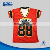 Top quality new pattern american football tops 5xl for sale