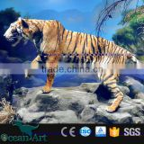 BY-VI032501 Mini Golf Outdoor Life Size Tiger Statue