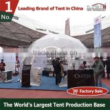 PVC geodesic dome tent steel tent for camping and party