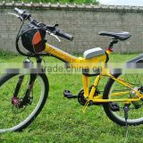 "2015 New foldable 26"" wholesale electric bike"