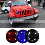Original 12V Head Lamp Double Light Lens LED Head Lights For Jeep Wrangler Headlight 2009 2010 2011 2012 2012 2014 2015