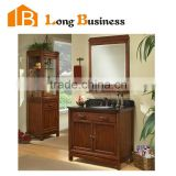 LB-LX2148 Hot sell Modern Solid Wood bathroom cabinet with four legs used bathroom vanity cabinets