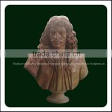 Hand Carved Roman Marble Bust Statue