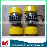 high quality sprocket flexible roller chain coupling chain drive coupling