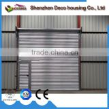 Automatic operation 3 phrase motor galvanized steel roll up industrial doors