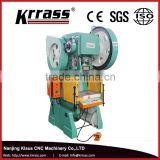 CE&ISO single crank mechanical punch press , small press machine , eccentric press machine