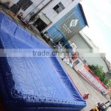 commercial customized adult square inflatable swimming water pool with pool cover