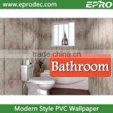 New design bathroom vinyl wall paper