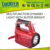 multifuncation dynamo light super bright led lights