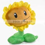 St plush toys smiling sunflower accept oem and wholesale cute dolls