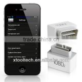 Xtool iOBD2 MFi BT bluetooth obd2/eobd iPhone&Android supported car diagnostic kit
