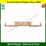 Bamboo Bathtub Caddy with Extending Sides and Adjustable Book Holder YM5-1322