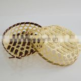 Table decoration bamboo fruit storing basket