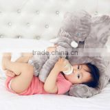 Cute Plush Elephant Baby Toy Fashion Custom Stuffed Soft Plush Elephant With Big Ears