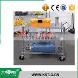 TJG high quality Stainless Steel restaurant All-Purpose Utility Cart trolley dolly