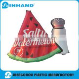 Self Automatic Beach Pillow Camping Travel PVC Inflatable Watermelon Pillow for Neck Rest