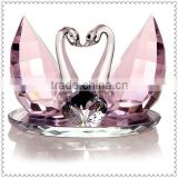 Kissing Wedding Favor Crystal Swan For Wedding Souvenir Gifts