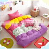 New arrival King Size And Full Size Cheap 100 Cotton Bed Linen Sets ,round thermal bed sheets for sale