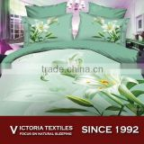 spring floral bedding set queen comforter sheet set 3d series