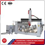wood 4 axis cnc router , 4th axes rotary machine, 3d sculpture cnc router for EPS foam, mould