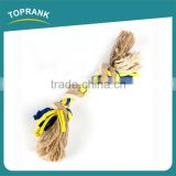 Factory Wholesale New Durable Chew Cotton Rope Squeaky Best Dog Bones For Aggressive Chewers