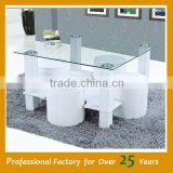 Cheap simple design glass coffee table alibaba coffee table JY-06